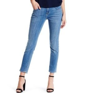 7 For All Mankind Cropped Skinny Jean